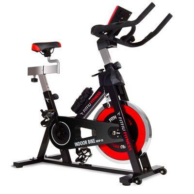 Oferta ebay bicicleta de spinning Fitfiu con volante de 24kg barata