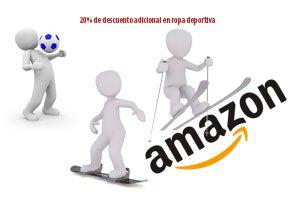 Ofertas en ropa deportiva en Amazon