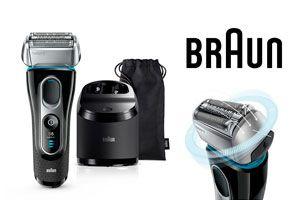 Oferta afeitadora electrica braun barata Braun Series 5 5197cc barata amazon