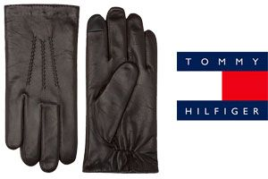 Oferta guantes de piel Tommy Hilfiger baratos amazon