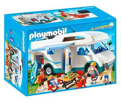 Oferta juguetes de playmobil baratos caravana de verano