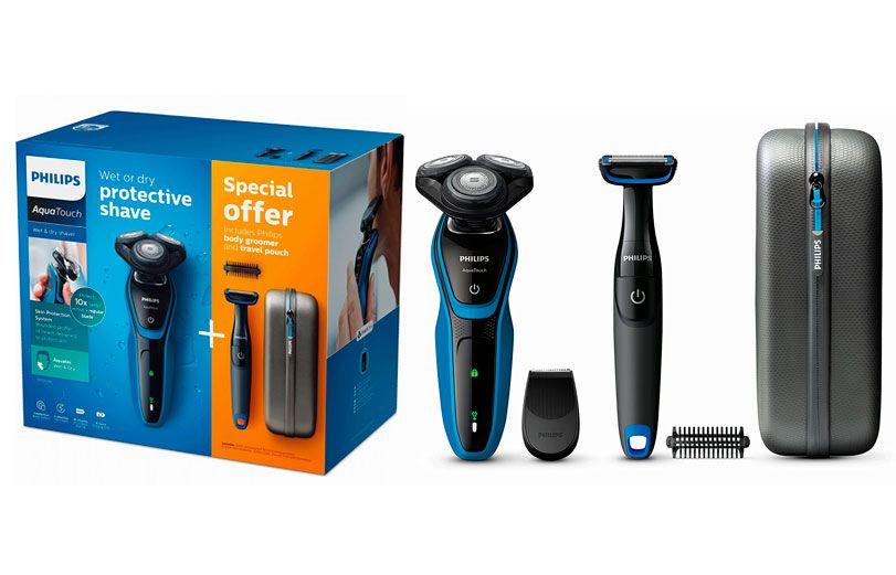Oferta afeitadora Philips AquaTouch S5050 por solo 59 euros. 43956429be9c