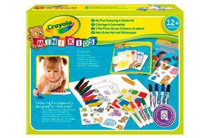 Crayola Mi Primer Set De Colorear con Pegatinas barato amazon