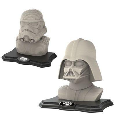 Oferta 3D Sculpture Puzzle Darth Vader