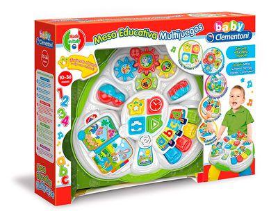 Oferta Mesa educativa multijuegos Baby Clementoni barata amazon