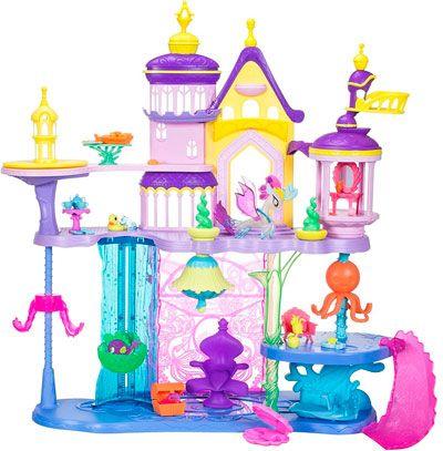 Oferta My Little Pony Castillo Canterlot y Mar barato amazon