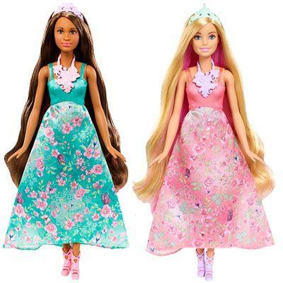 Oferta muñecas Barbie mil peinados mágicos baratas amazon
