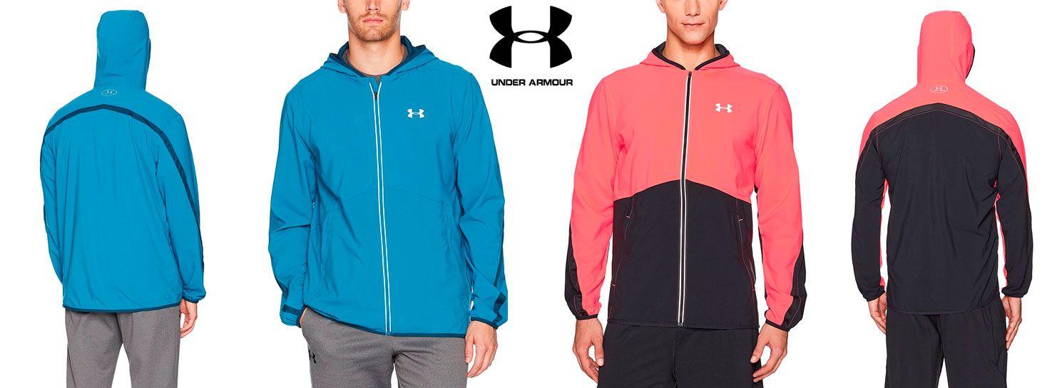 belleza último clasificado comprar lujo Oferta chaqueta de running Under Armour Run True desde solo 24,84 euros.  Descuento del 59%. - Más Que Ofertas