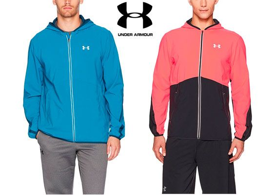 Oferta chaqueta de running Under Armour Run True