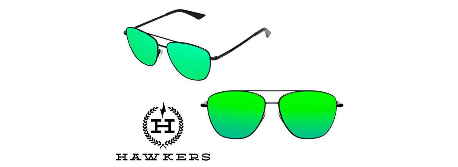 Oferta Gafas Lax Sol Baratas Más Amazon De Emerald Hawkers Black qAL35c4Rj