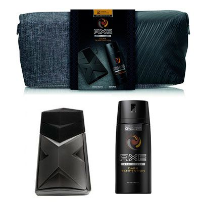 Oferta neceser Axe Dark Temptation barato amazon