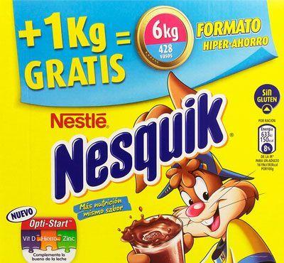 Oferta Nesquik 6 Kg formato Hiper-ahorro barato amazon