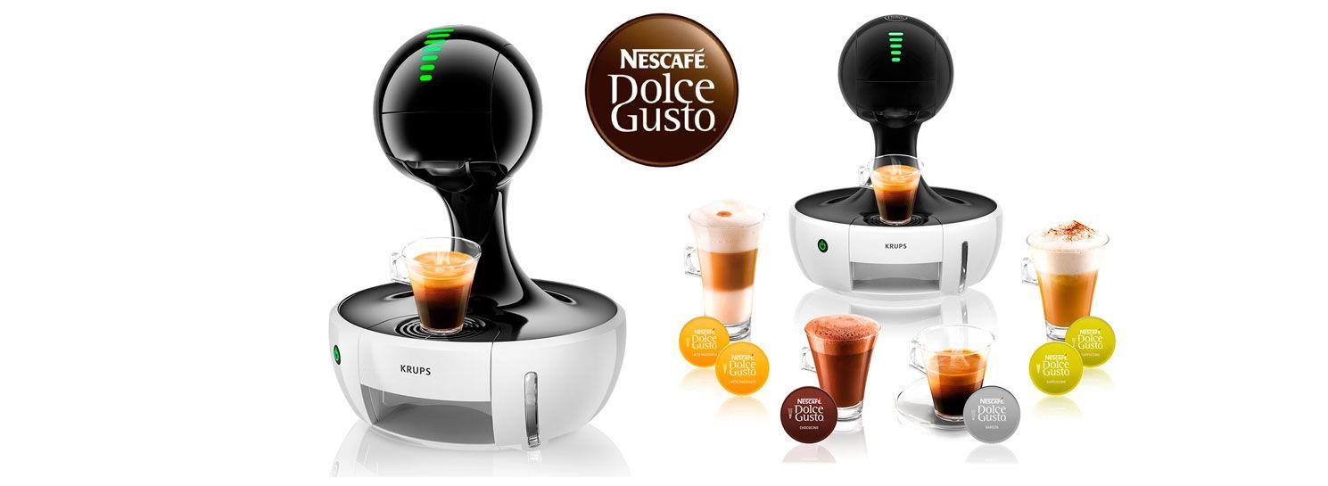 Oferta cafetera Nestlé Dolce Gusto Drop Krups KP3501 por