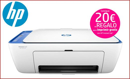 Oferta impresora HP Deskjet 2630 barata