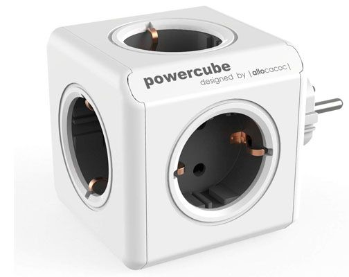 Oferta regleta Allocacoc PowerCube 5 gris barata amazon