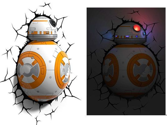 Oferta Lámpara 3D Star Wars BB-8 3DLIGHTFX barata amazon