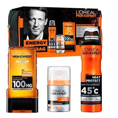 Oferta L 'Oreal Men expert Energy Bag estuche regalo barato amazon