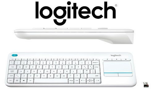 Oferta Logitech K400 Plus blanco barato amazon