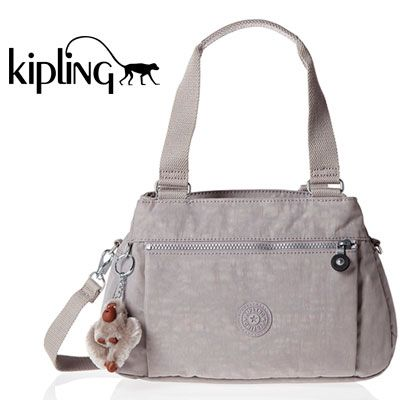 Oferta bolso Kipling Orelie Gris N Slate Grey barato amazon