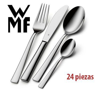 Oferta cubertería WMF Philadelphia 24 piezas barata amazon