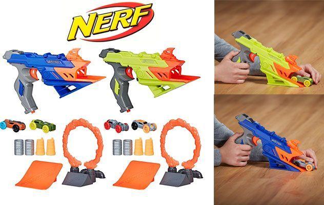 Oferta lanzador Nerf Nitro Duelfury Demolition barato amazon