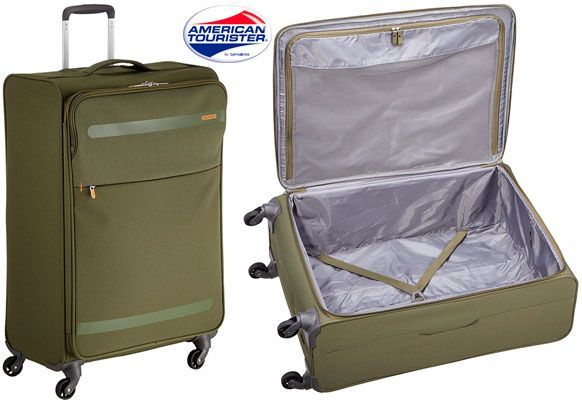 Oferta maleta American Tourister Herolite L barata amazon