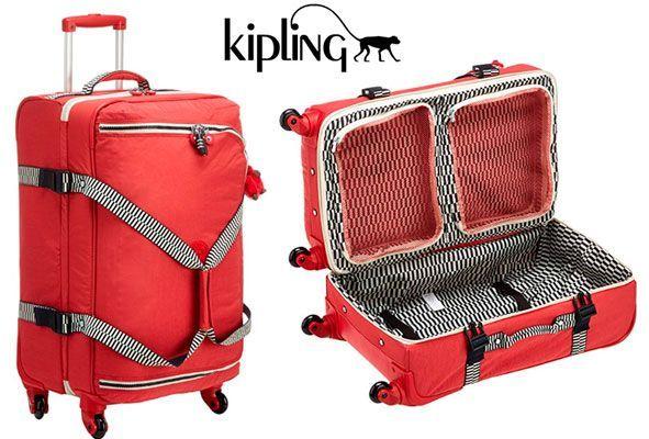 Oferta maleta Kipling Cyrah barata Amazon