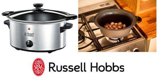 Oferta olla de cocción lenta Russell Hobbs Cook & Home barata amazon