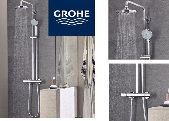 Oferta sistema de ducha Grohe Euphoria System 180 barato amazon