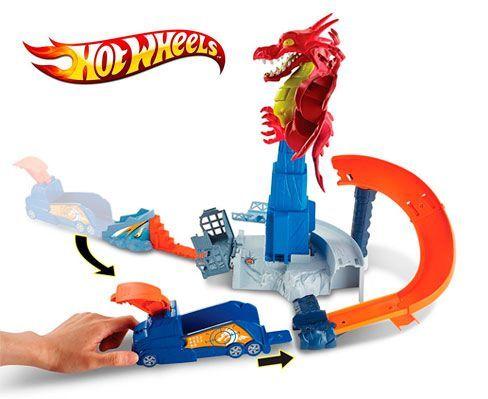 Oferta Hot Wheels Dragon Attack barato amazon