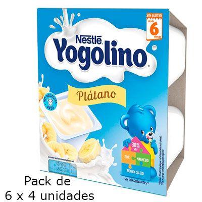 Oferta Nestle Yogolino Plátano 24 unidades barato amazon