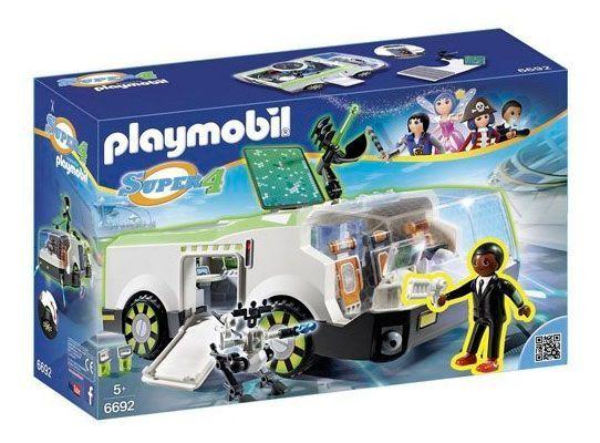 Oferta Playmobil Super 4 vehículo Camaleon con Gene barato amazon