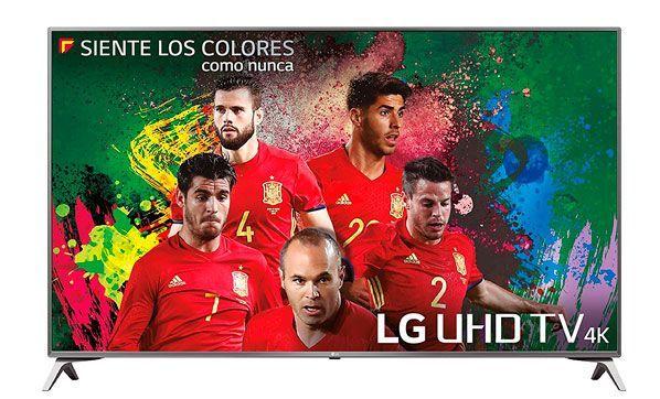 Oferta Smart TV LG 49UJ651V 4K UHD barata amazon