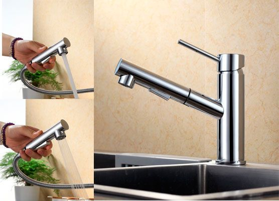 Oferta grifo de cocina Homelody SD8029 extraíble barato amazon