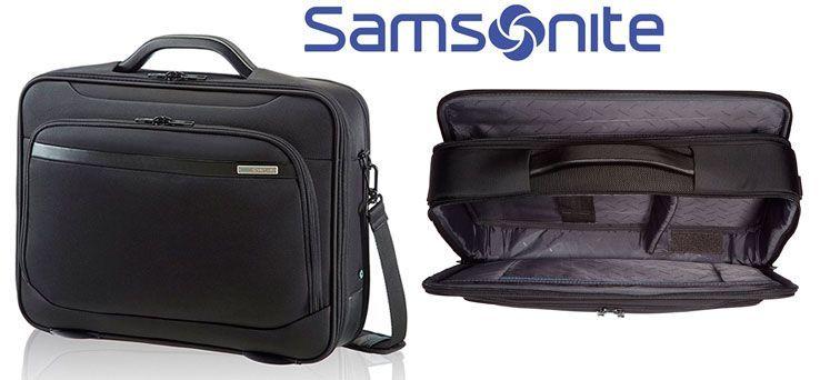 Oferta maletín Samsonite Vectura para portátil barato amazo