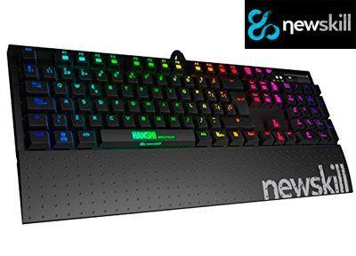 Oferta teclado mecánico gaming Newskill Hanshi Spectrum Kailh barato amazon