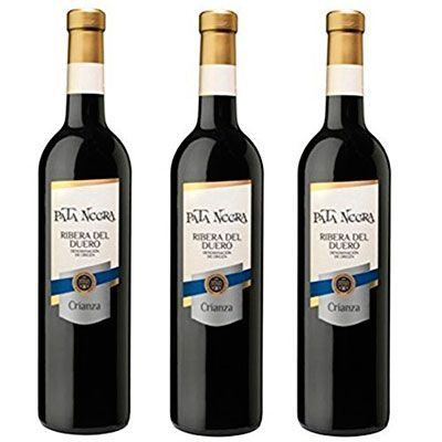 Oferta vino tinto Pata Negra Crianza D.O Ribera del Duero barato amazon