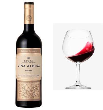 Oferta vino tinto Viña Albina Reserva barato amazon
