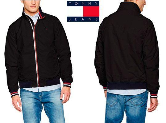 Oferta chaqueta Tommy Hilfiger Bomber 22 barata amazon, chollos ropa de marca barata