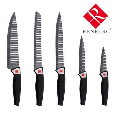 Oferta set de 5 cuchillos Renberg St. Moritz baratos amazon