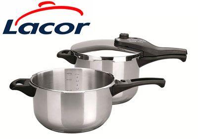 Oferta set de ollas a presión Lacor Tempo 71862 baratas amazon