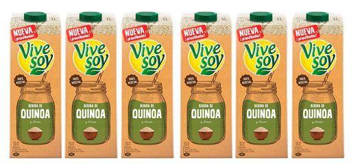 Oferta pack de 6 Vivesoy Bebida de Quínoa y arroz barato amazon