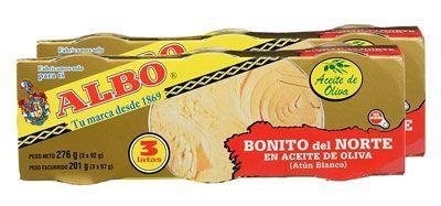 Oferta pack de 6 latas Albo Bonito del Norte en Aceite de Oliva barato amazon