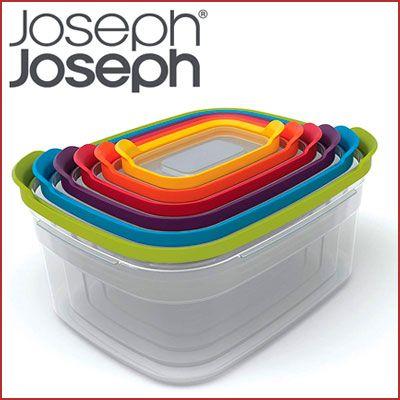 Juego 6 recipientes Joseph Joseph nido