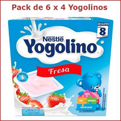 Oferta Nestle Yogolino Fresa 24 unidades barato