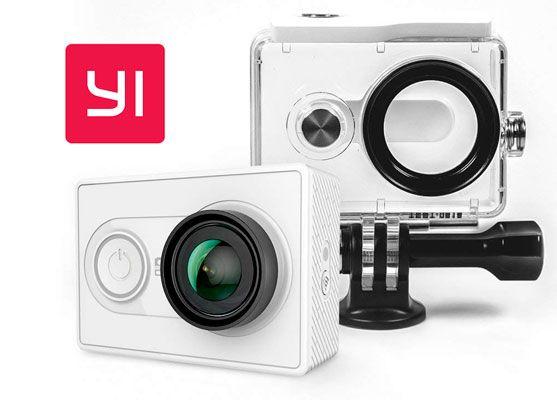 Oferta cámara de acción Yi 2K con carcasa barata