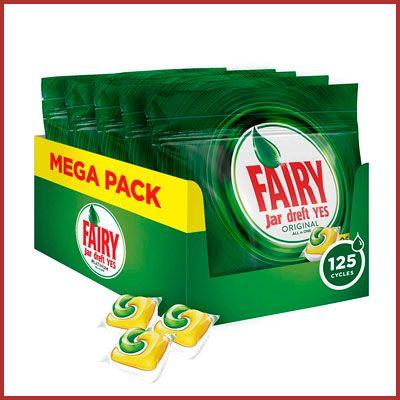Oferta 125 cápsulas Fairy Original All in One Limon