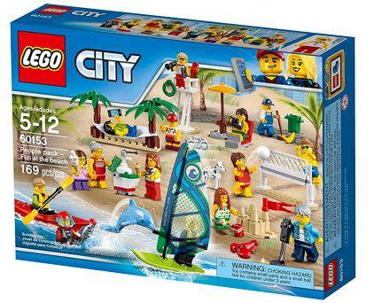Oferta mini figuras Lego Diversión en la Playa barato amazon