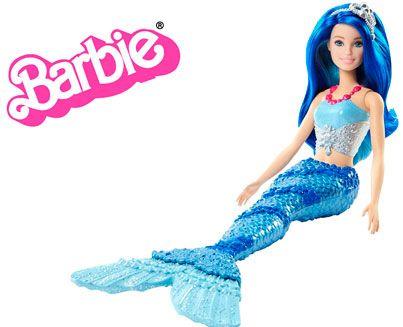 Oferta muñeca Barbie Dreamtopia sirena azul barata amazon