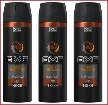Oferta pack de 3 desodorantes Axe Dark Temptation XL baratos